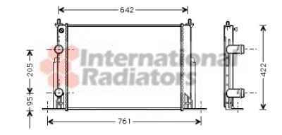 Fiat Stilo 1.9 16V JTD chladič 1.8, 1.9 JTD, 2.4