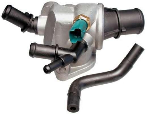 Fiat Croma 2005- 2.4 20V JTD 200HP termostat s těsněním